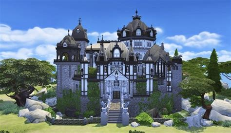 Vampire Castle by Bangsain at My Sims House » Sims 4 Updates