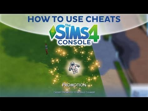 Sims 4 Cheats - HOW TO USE CHEATS / The Sims 4 Console