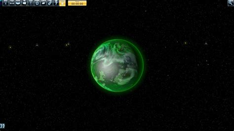 Space Green Planet