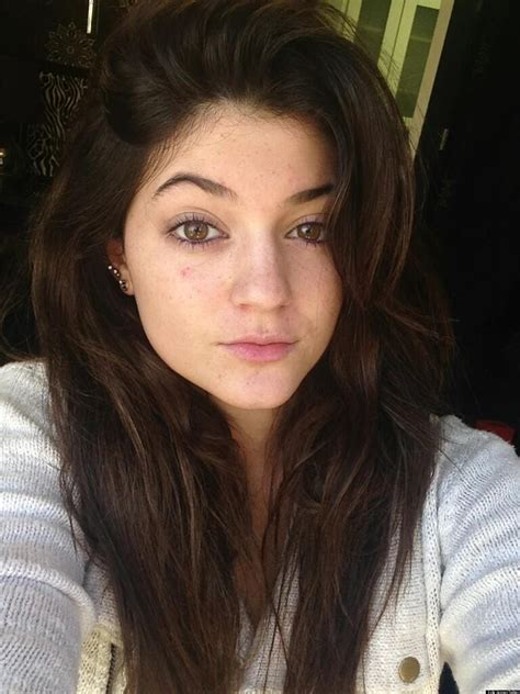 Kylie Jenner's No Makeup Look Is Fresh (PHOTO) | HuffPost