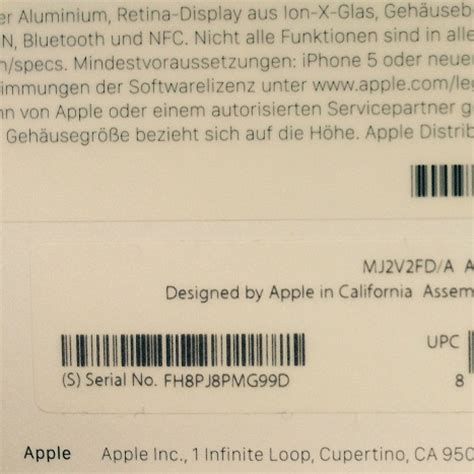 How To Check and Read The Apple Watch Serial Number