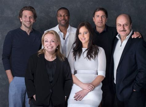 """Jennifer and the """"Silver Linings Playbook"""" cast - TIFF"""