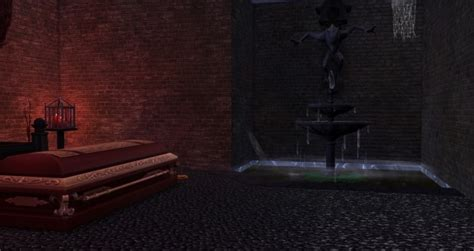 Midnight Vampire Lair house NO CC by busabus at Mod The