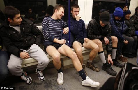 Commuters around the globe ditch their trousers for 12th